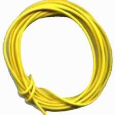 20' Yellow Hook Up Wire 22 gauge stranded for AMERICAN FLYER ACCESSORY Train