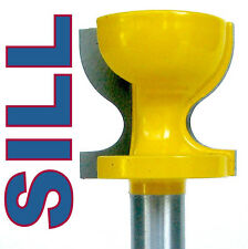 "1 pc 1/2"" SH Window Sill, Stool Molding & Door Pull Edge Router Bit sct-888"