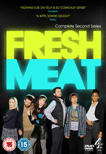 Fresh Meat 2nd Series Dvd Jack Whitehall Brand New & Factory Sealed