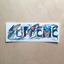 Supreme trip reset skateboard vinyl sticker decal bumper abstract