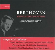 "Ludwig Van Beethoven: ""Spring"" and ""Kreutzer"" Violin Sonatas, New Music"