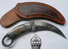 Custom Handmade Beautiful Damascus Karambit Knife