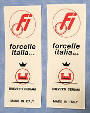 FORCELLE ITALIA BIMOTA/DUCATI/MAGNI/LAVERDA/GUZZI / STICKERS- LONG TYPE