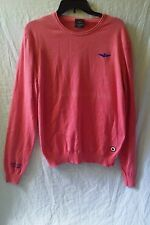 Aeronautica Militare Long Sleeve Peach Casual Shirt Size Large