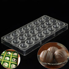 Semi Sphere Polycarbonate Chocolate Mold Clear Mold DIY Handmade Pastry Tools