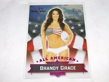 2015 Benchwarmer Signature BRANDY GRACE #22 All American Pink/25 Playboy FOKKERS
