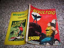 ZAGOR ZENITH N.73 ORIGINALE DEL 1967 BUONO NO TEX MARK ARALDO DOG RANGER