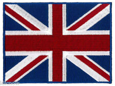 """Great Britain (large) Embroidered Patch 12 X 9CM  (4 3/4"""" X 3 1/2"""") approx"""