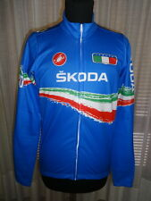 MAGLIA CICLISMO CASTELLI JACKET SHIRT ITALIA TEAM JERSEY COLLECTOR 2011