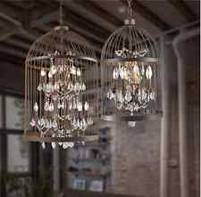 Bespoke Bird Cage Crystal Pendant Chandelier Pendant Light Lamp 8 Lights