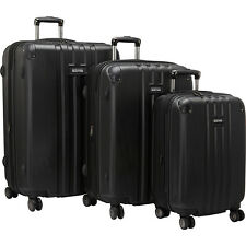 Kenneth Cole Reaction Reverb 3 Piece Expandable Luggage Set NEW