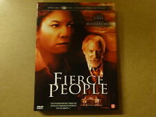 2-DISC SPECIAL COLLECTOR'S EDITION DVD / FIERCE PEOPLE ( DONALD SUTHERLAND )