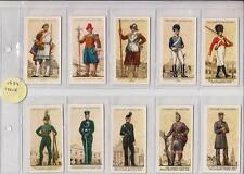 TERRITORIAL ARMY PLAYERS CIGARETTES 1939 ISSUE  FULL SET OF 50 CARDS IN SLEEVES
