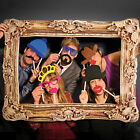 PHOTO BOOTH NOVELTY PHOTOGRAPHY FRAME AND PROPS FANCY DRESS PARTY WEDDING FUN