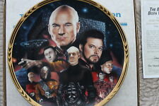 STAR TREK THE NEXT GENERATIONS THE EPISODES  PLATES THE BEST OF BOTH WORLDS