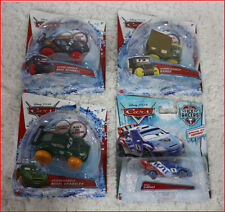 LOT 4 - Disney Pixar CARS Hydro Wheels NIGEL + MAX + SARGE + RAOUL Spec Edition