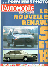 L'automobile magazine:  N°455 mai 1984