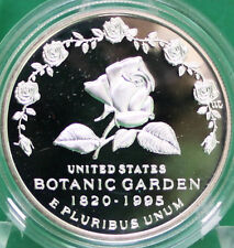 1997 Botanic Garden Proof Silver Dollar Commemorative US Mint Coin ONLY