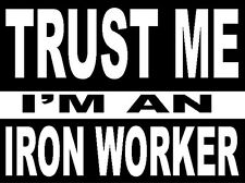 hard hat stickers, hardhat stickers IRON WORKER CIW3A