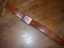 DISNEYS MICKEY MOUSE SALUTING WATCH W/FLAG~~NEW BATTERY