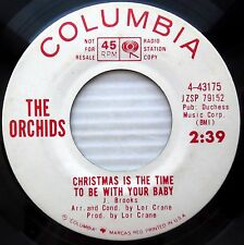 ORCHIDS christmas is the time to be with your baby WHITE LABEL PROMO 45 w257