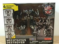 Bakugan Mechtanium Surge Mechtavius Destroyer 4 Mechtogan Combine Target New