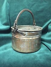 Early Copper Bucket with Handforged Iron Bail Handle ~ Old and  Original - BC6