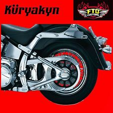 Kuryakyn Chrome Boomerang Frame Covers for H-D Softail 7773