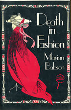 Death in Fashion by Marian Babson-Signed First US Edition/DJ-1985