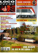 LOCO REVUE N°633 RESEAU : CAPVERN / BB 36000 JOUEF / PONT POUR VILLARS / DRAVEIL