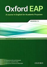 Oxford EAP ADVANCED C1 Student's Book with DVD-ROM Academic English @BRAND NEW@