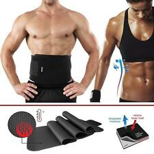 Waist Trimmer Exercise Wrap Belt Burn Fat Sweat Weight Loss Body Shaper Slimming