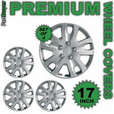 "Astra 17"" WHEEL TRIMS/HUB CAPS Covers Set of 4 Silver Universal"