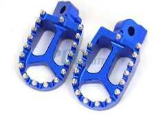 CNC RACING FOOTPEGS YAMAHA YZ85 YZ125 YZ250 YZ250F YZ426F YZ450F BLUE H FP11