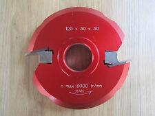 Hartmetall Wechselplatten Multiprofilfräser 120 x 30 x 30 mm Z 2 von Le Ravageur
