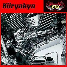 Kuryakyn Chrome Flame™ Shift Linkage & Flame Shift Arm Cover 1059 &1072