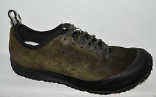MERRELL IMPROV LACE DK BEAR MENS SZ 10 M 44 SUEDE HIKING WALKING SHOES SNEAKERS