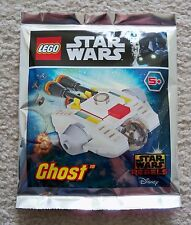 LEGO Star Wars Rebels - Rare - 911720 The Ghost Foil Pack - Exclusive Promo