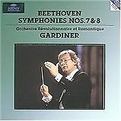 Gardiner conducts Beethoven Symphonies 7 & 8 ORR Archiv 447 063 CD