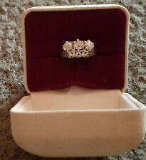 18K White Gold Diamond Dinner Ring