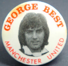 MANCHESTER UNITED Player from 1963-1974 GEORGE BEST  Badge 30mm x 30mm