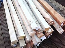 "RECLAIMED TIMBER 3""x3"" 6ft & 7ft POSTS WOOD FOR BEARERS FENCE RAILS JOIST ETC"
