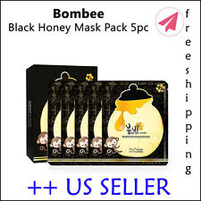 PAPA RECIPE Bombee Black Honey Facial Mask 5 Sheets  - +Free sample