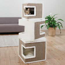 Trixie Lilo Modular 3-story MDF/Sisal Rope/Polyester Cat Tower and Scratching Po