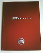 FIAT BRAVO 2007 RANGE CAR BROCHURE. RARER GLOSSY LAUNCH EDITION T JET BLUE & ME