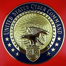 UNITED STATES CYBER COMMAND ID BREAST BADGE MEDAL ORDER                       01