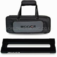 Mooer PB05 Stomplate Maxi Folding Pedal Board for 5 pedals in a Soft Carry Bag