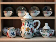 Multi Pattern Coffee Set, Kitchen Dining Accessory Drinks, Doll House Miniature