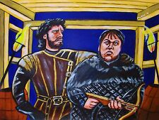 GAME OF THRONES PRINT poster hbo series jon snow night's watch crossbow tarly