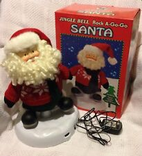 JINGLE BELL ROCK A-GO-GO SANTA BY CHRISTMAS FANTASY LTD 2001